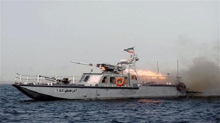 قطعة بحرية إيرانية في الخليج العربي