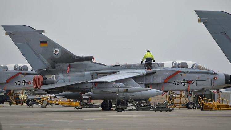 """مقاتلة """"تورنادو"""" الألمانية في قاعدة إنجرليك جنوب تركيا"""