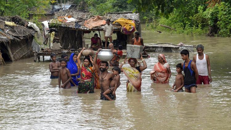 156 قتيلا و1.4 مليون مشرد جراء فيضانات اجتاحت ولاية بيهار الهندية