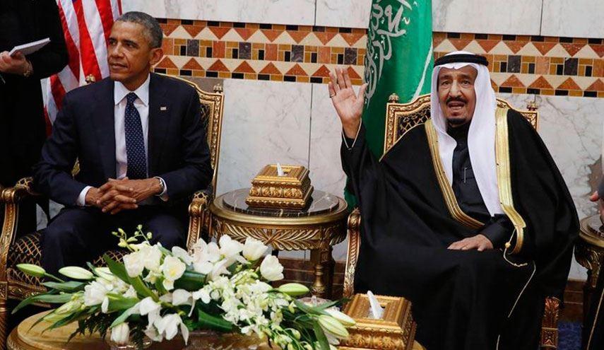 الملك السعودي والرئيس الاميركي