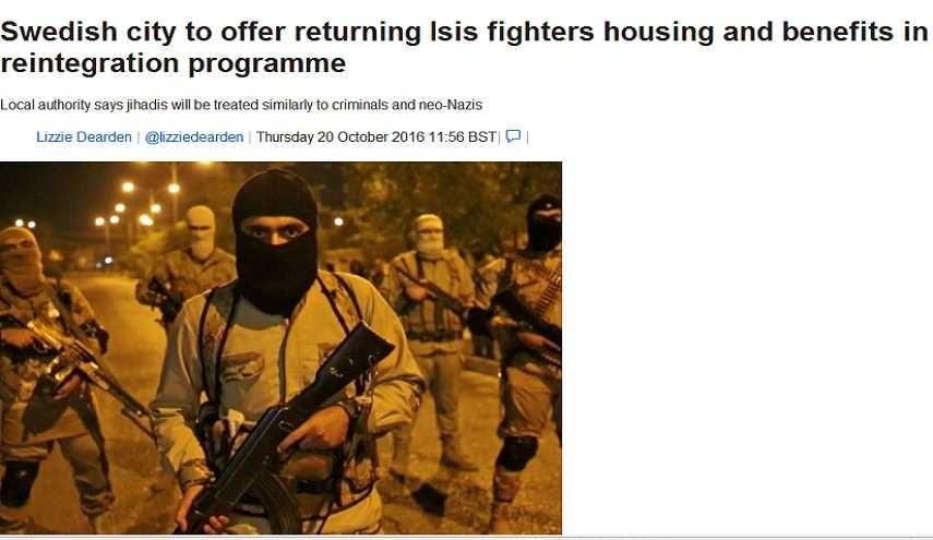 المتطرفون يهربون الى أوروبا والسويد تستقبلهم!