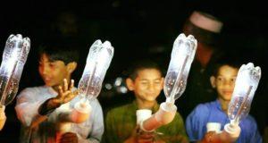 حل سحري لمعاناة المحرومين من الكهرباء.. مصابيح القوارير البلاستيكية
