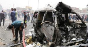 تفجير سابق في بغداد