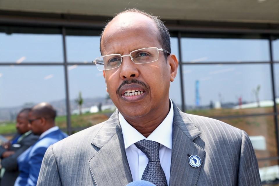 وزير الخارجية الجيبوتي محمود علي يوسف