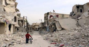 أحد أحياء حلب