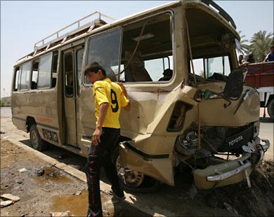 مقتل ثمانية بانفجارين جنوب بغداد