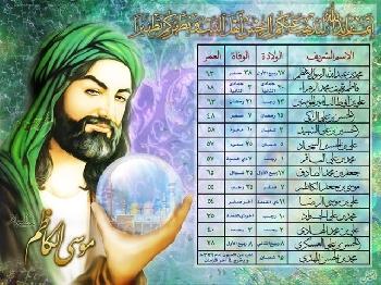 صور الأئمة  الإمام الرضا (ع)