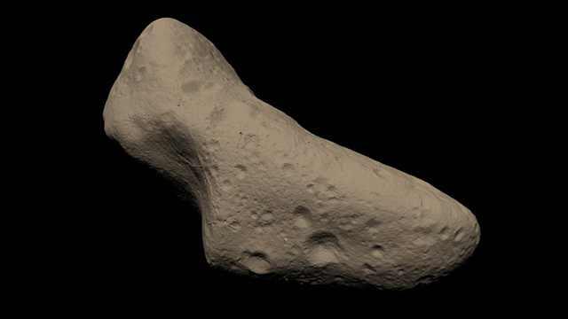 صورة حول الكويكبات المعدنية في منظومتنا الشمسية