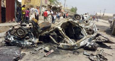 صورة مقتل 6 وإصابة 12 شخصا فى بعقوبة ومقتل 6 أشخاص من أسرة واحدة فى تفجير منزلهم جنوبى بغداد