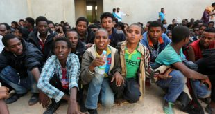 لا يوجد في ليبيا عدد كاف من السجون لاحتجاز المهاجرين غير الشرعيين.