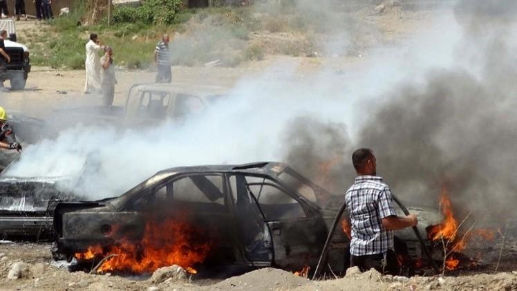 صورة مقتل 17 شخصا بينهم مدنيون في قصف استهدف مسلحين في بابل والعثور على 15 جثة في بغداد
