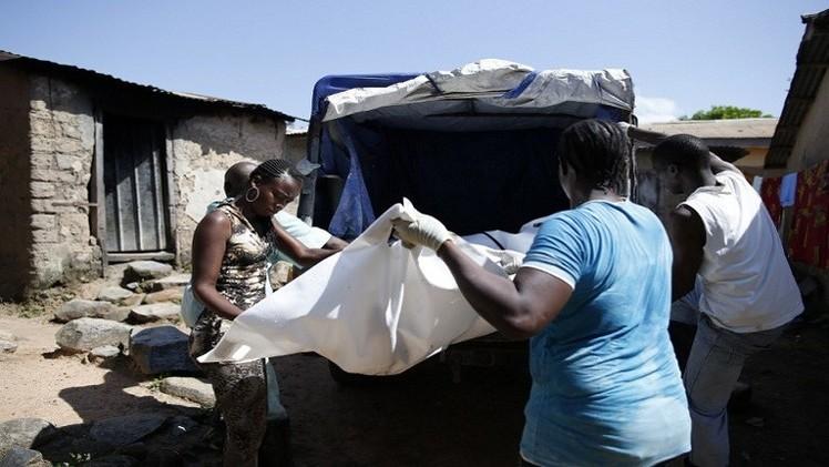 صورة ارتفاع عدد وفيات إيبولا إلى 6388