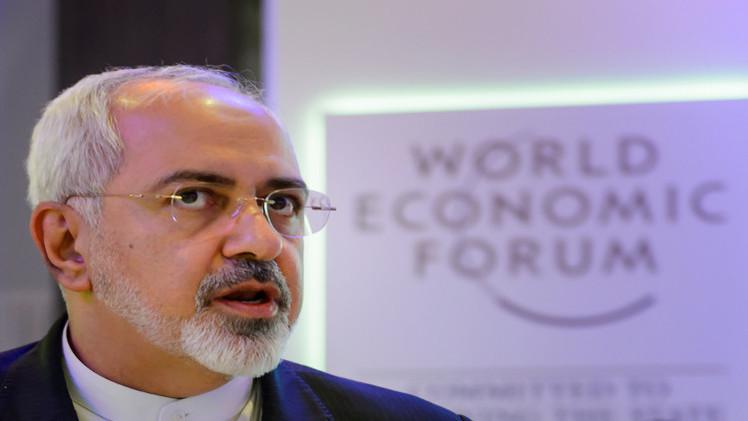 """صورة ظريف: فرض واشنطن عقوبات جديدة على طهران يهدد التوصل لاتفاق """"نووي"""""""