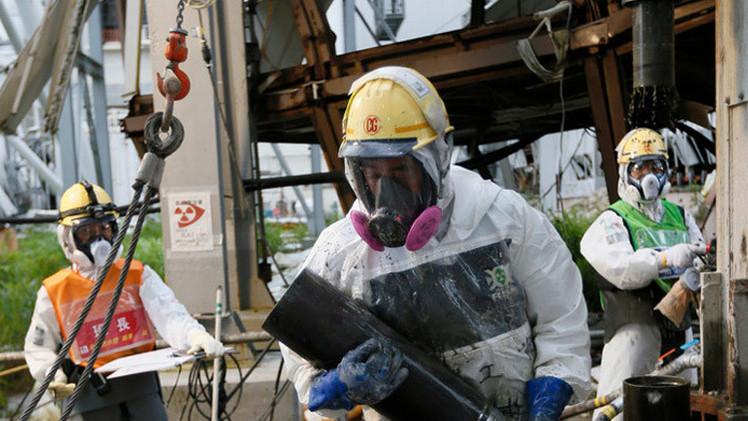 """صورة اليابان: تسرب مياه مشعة من """"فوكوشيما -1"""""""