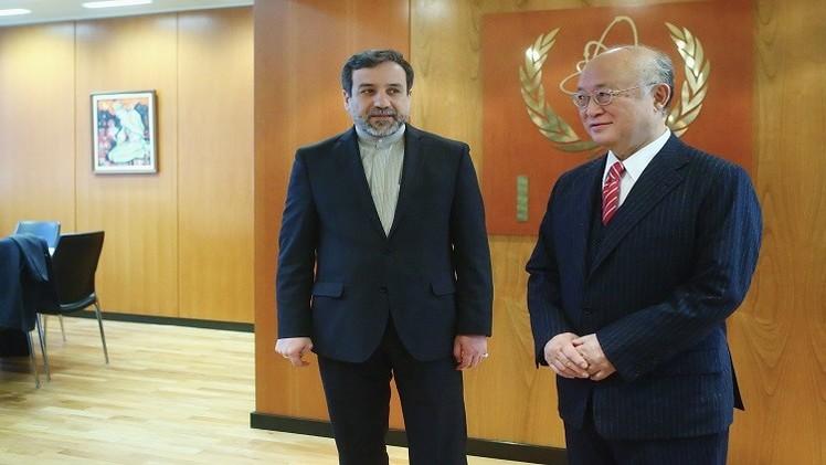 صورة طهران والوكالة الدولية للطاقة الذرية تتفقان على تعزيز التعاون