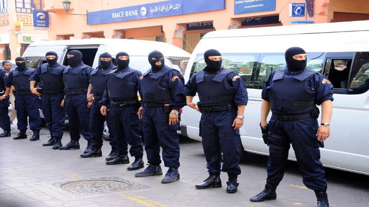 صورة الداخلية المغربية تفكك خلية إرهابية