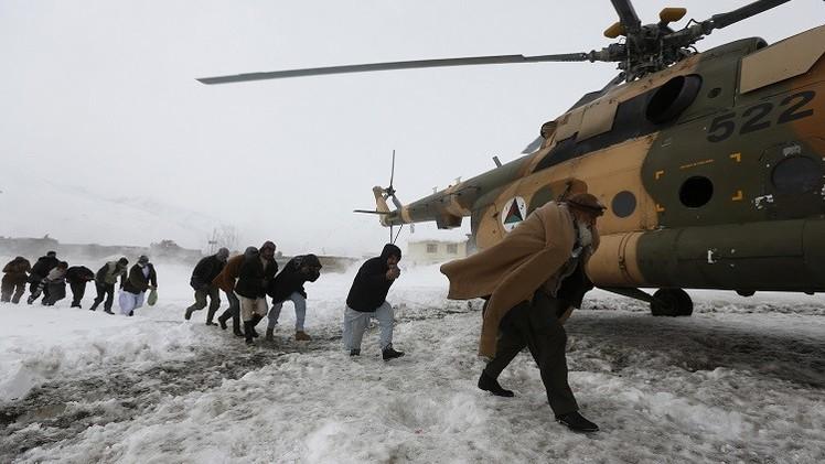 صورة 300 قتيل حصيلة ضحايا الانهيارات الثلجية في أفغانستان