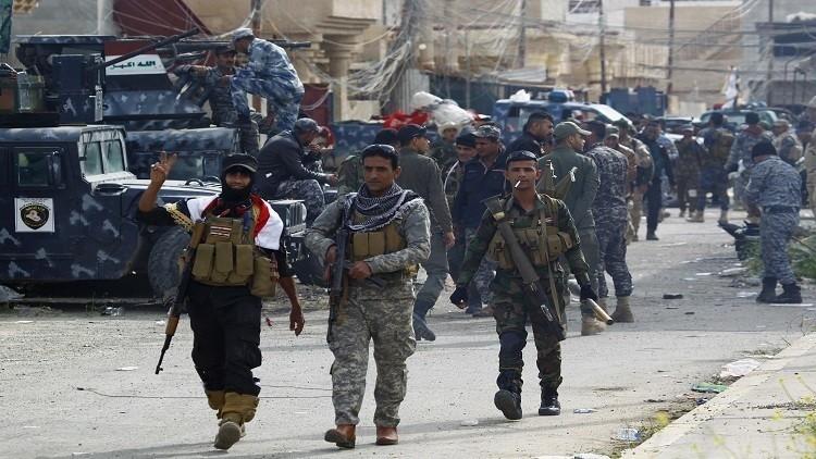 صورة القوات العراقية تحرر منطقة زنكورة شمال الرمادي