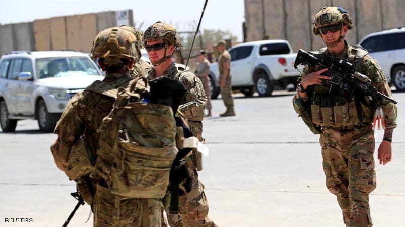 صورة العراق.. انفجار يستهدف رتلا منسحبا من قاعدة التاجي