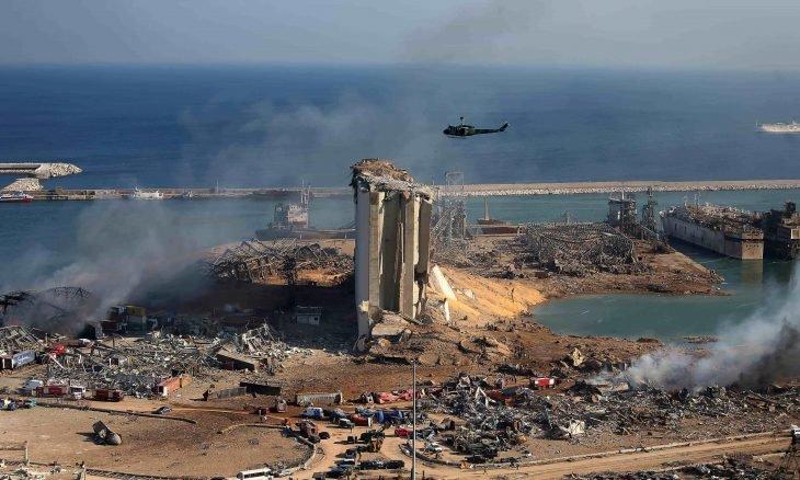 صورة نيويورك تايمز: تدمير مرفأ بيروت أنهى لبنان والأيام المقبلة حبلى بالغضب