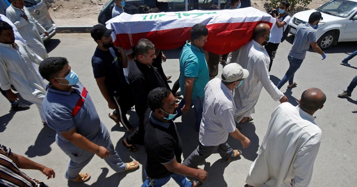 صورة تقرير يكشف دوافع وظروف حملة اغتيالات نشطاء البصرة