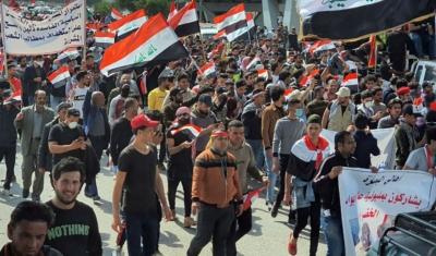 صورة عام على احتجاجات العراق: هل يتلاشى الغضب الشعبي بسبب افتقاره إلى قيادة؟