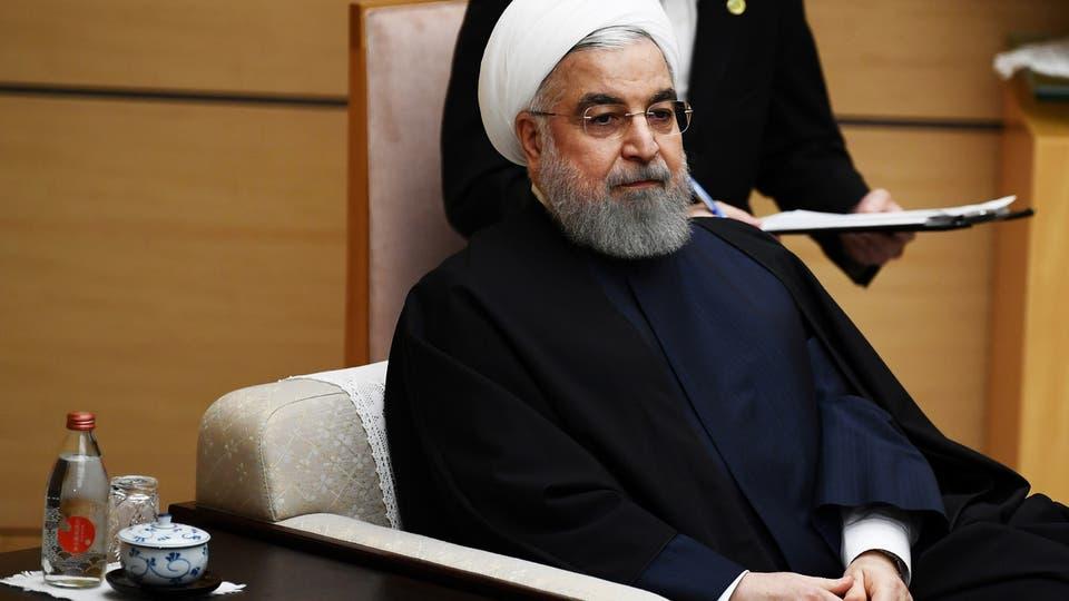 صورة روحاني: إيران خسرت 150 مليار دولار بسبب العقوبات الأميركية