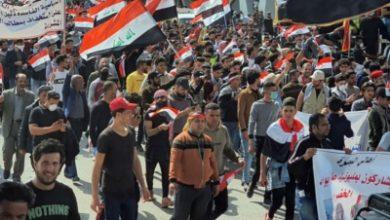 صورة الذكرى التشرينية الأولى..الانتصار الحقيقي لتشرين يكون بالاقتصاص من قتلة المتظاهرين