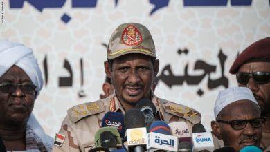 """صورة نائب رئيس مجلس السيادة السوداني: """"مش بالعواطف.. نحن نحتاج إلى إسرائيل"""""""