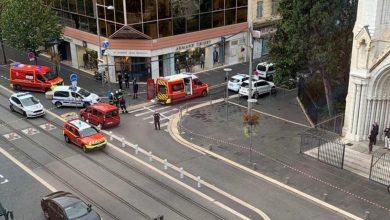صورة طعن وذبح في كنيسة بفرنسا:عدة قتلى و جرحى.