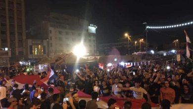 صورة توافد الثوار الى الساحات استعدادا ليوم غد 25 اكتوبر